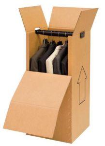 Caja armario modelo 30 - Rapack - Cajas sector textil - Cajas para venta online