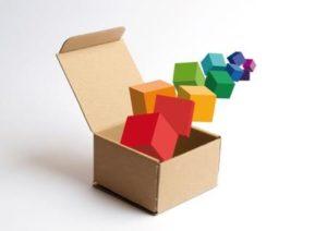 Caja de embalaje para venta online