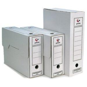 cajas de archivo de documentos