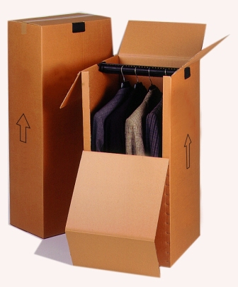 cajas sector textil - ra pack - caja armario - cajas armario - cajas