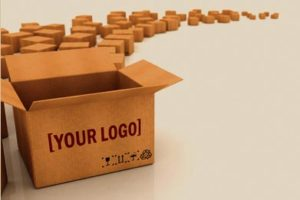cajas con logo
