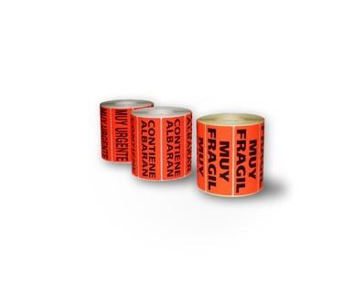 Cajas de cartón - Cajas de mudanzas - Etiqueta - Cajas de carton