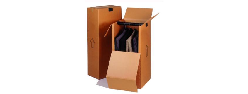 Cajas sector texti - Caja armario - Cajas carton - Cajas automontables